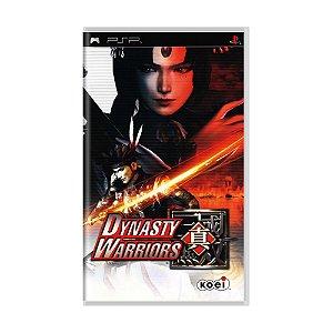 Jogo Shin Sangoku Musou Dynasty Warriors - PSP