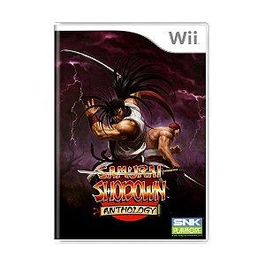 Jogo Samurai Shodown: Anthology - Wii
