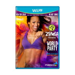 Jogo Zumba Fitness World Party + Zumba Fitness Belt - Wii U