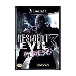 Jogo Resident Evil 3: Nemesis - GC - GameCube