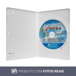 Jogo The Peanuts Movie: Snoopy's Grand Adventure - PS4 (Sem Capa)