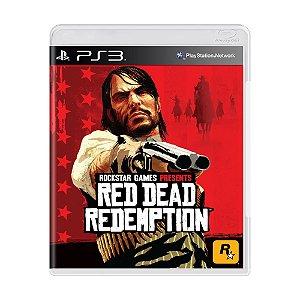 Jogo Red Dead Redemption - PS3