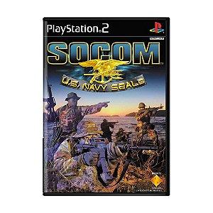 Jogo SOCOM U.S. Navy Seals - PS2