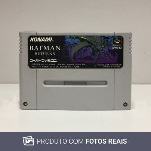 Jogo Batman Returns - Super Famicom