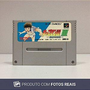 Jogo Captain Tsubasa III Koutei no Chousen - Super Famicom
