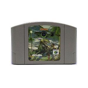 Jogo Jikuu Senshi Turok:Dinosaur Hunter - N64