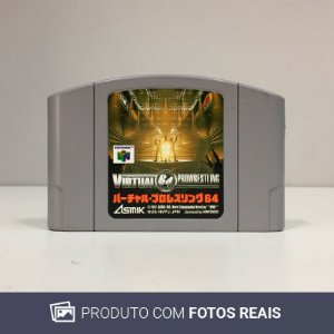 Jogo Virtual Pro Wrestling 64 - N64 [Japonês]