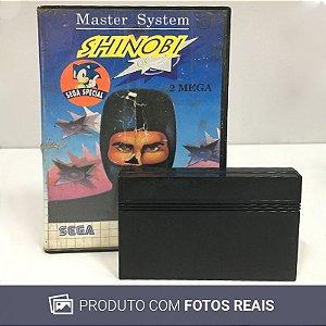 Jogo Shinobi - Master System