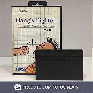 Jogo Gang`s Fighter- Master System