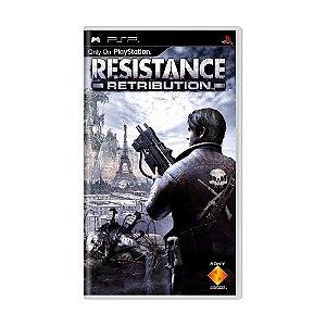 Jogo Resistance Retribution - PSP