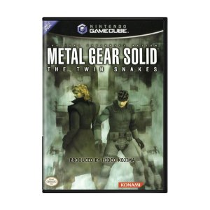 Jogo Metal Gear Solid: The Twin Snakes - GameCube