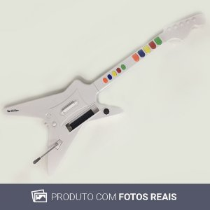 Guitarra Ladership Gamer Branca - Wii