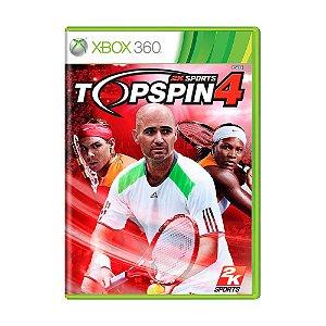 Jogo Top Spin 4 - Xbox 360