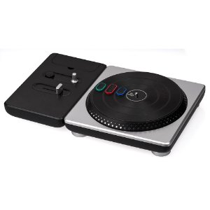Turntable Activision DJ Hero Prata (Sem Jogo) - Wii