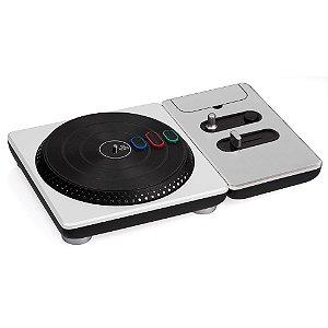 Turntable Activision DJ Hero Branco (Sem Jogo) - Wii