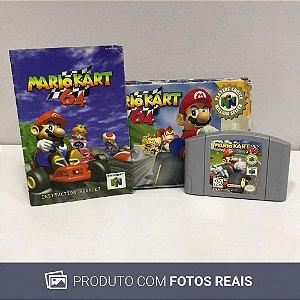 Jogo Mario Kart 64 - N64