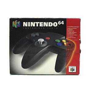 Controle Nintendo 64 Preto - Nintendo