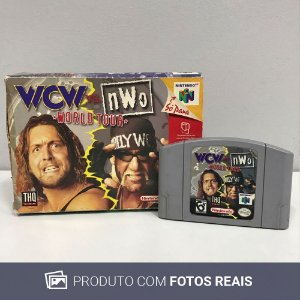 Jogo  WCW vs. nWo: World Tour - N64