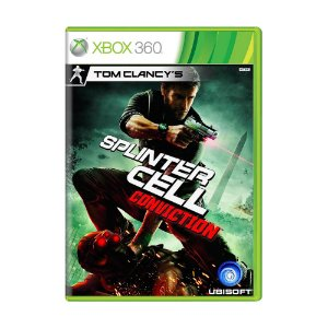 Jogo Tom Clancy's: Splinter Cell Conviction - Xbox 360