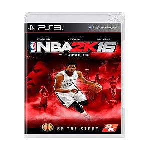 Jogo NBA 2K16 - PS3