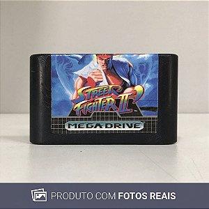 Jogo Street Fighter II (Relabel) - Mega Drive
