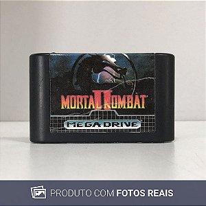 Jogo Mortal Kombat II (Relabel) - Mega Drive