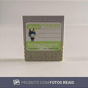 Memory Card Nintendo GameCube Animal Crossing - GC