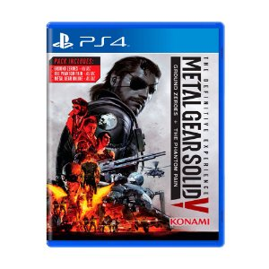 Jogo Metal Gear Solid V : The Definitive Experience - PS4