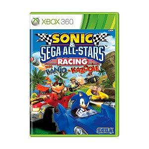 Jogo Sonic Sega All-Stars Racing com Banjo-Kazooie - Xbox 360