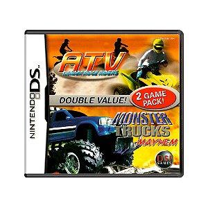 Jogo ATV: Thunder Ridge Riders + Monster Trucks: Mayhem - DS
