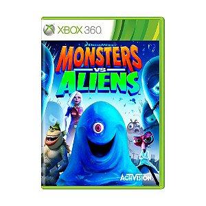 Jogo Monster vs Aliens - Xbox 360
