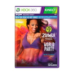 Jogo Zumba Fitness: World Party - Xbox 360