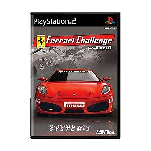 Jogo Ferrari Challenge - PS2