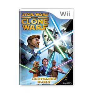 Jogo Star Wars The Clone Wars: Lightsaber Duels - Wii