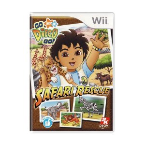 Jogo Go Diego Go! Safari Rescue - Wii