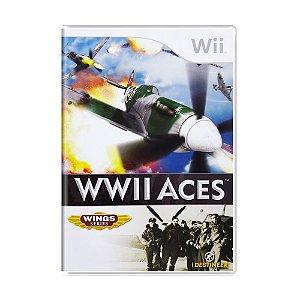 Jogo WWII Aces - Wii