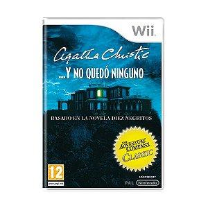 Jogo Agatha Christie: Y No Quedo Ninguno - Wii [Europeu]