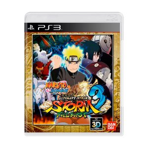 Jogo Naruto Shippuden: Ultimate Ninja Storm 3 Full Burst - PS3