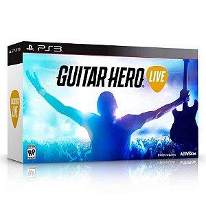 Jogo Guitar Hero: Live (Guitar Bundle) - PS3