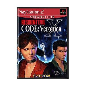 Jogo Resident Evil Code: Veronica X - PS2