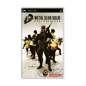 Jogo Metal Gear Solid: Portable Ops - PSP