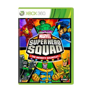 Jogo Super Hero Squad: The Infinity Gauntlet - Xbox 360