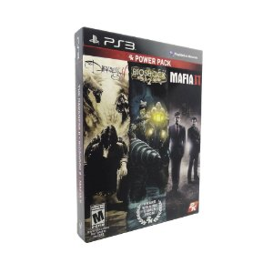 Jogos 2K Power Pack: Mafia II + Bioshock 2 + The Darkness 2 - PS3