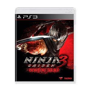 Jogo Ninja Gaiden 3: Razor's Edge - PS3