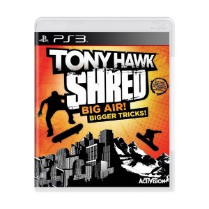Jogo Tony Hawk Shred: Big Air! Bigger Tricks! - PS3