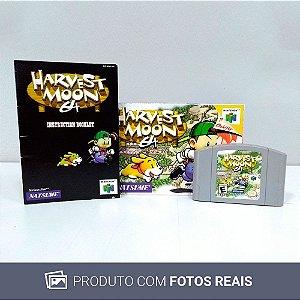 Jogo Harvest Moon 64 - N64