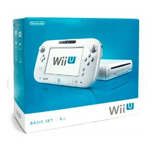 Console Nintendo Wii U Basic Set 8GB Branco - Nintendo