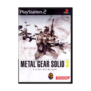 Jogo Metal Gear Solid 3 - PS2