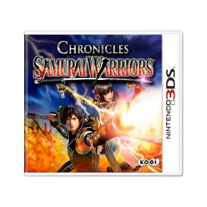 Jogo Samurai Warriors Chronicles - 3DS
