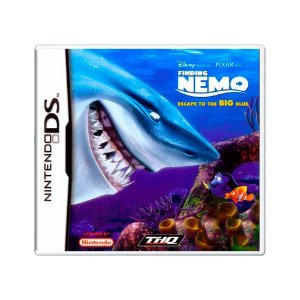 Jogo Finding Nemo: Escape to the Big Blue - DS [Europeu]